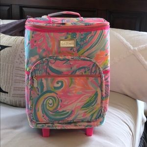 Brand New w tags Lilly Pulitzer Rolling Cooler
